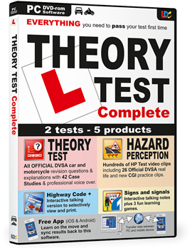 Theory Test Complete